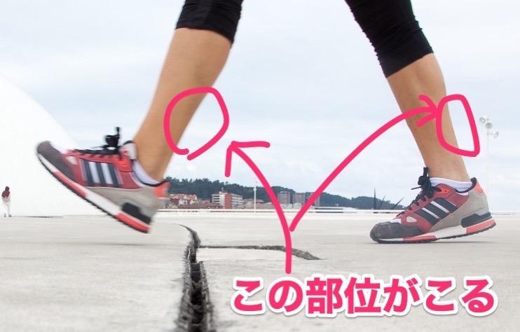 脚のこり foot