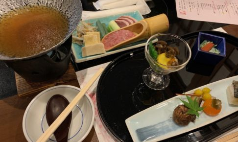 花伝抄のお食事 kadensyo