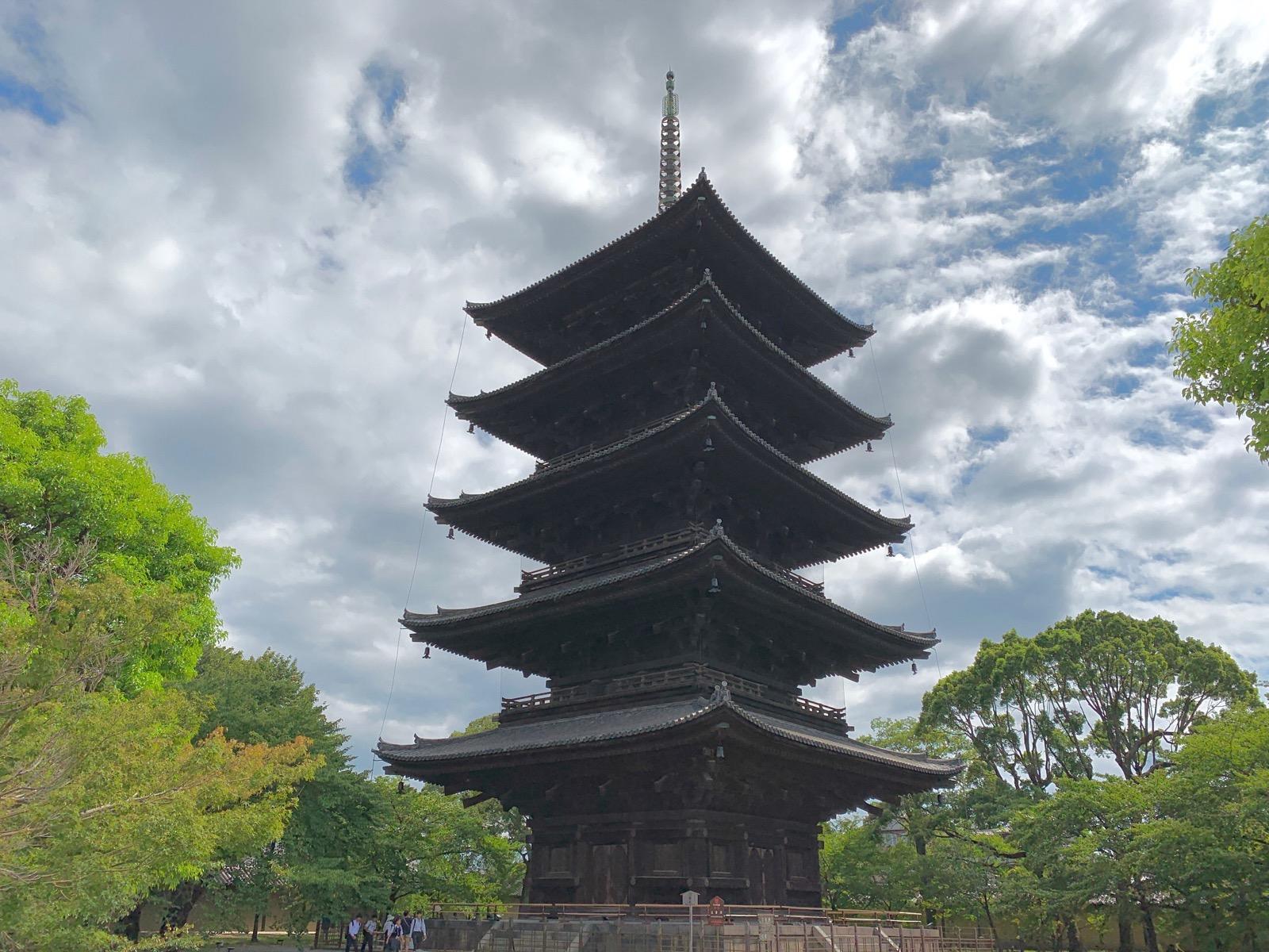 東寺の五重塔 kyoto