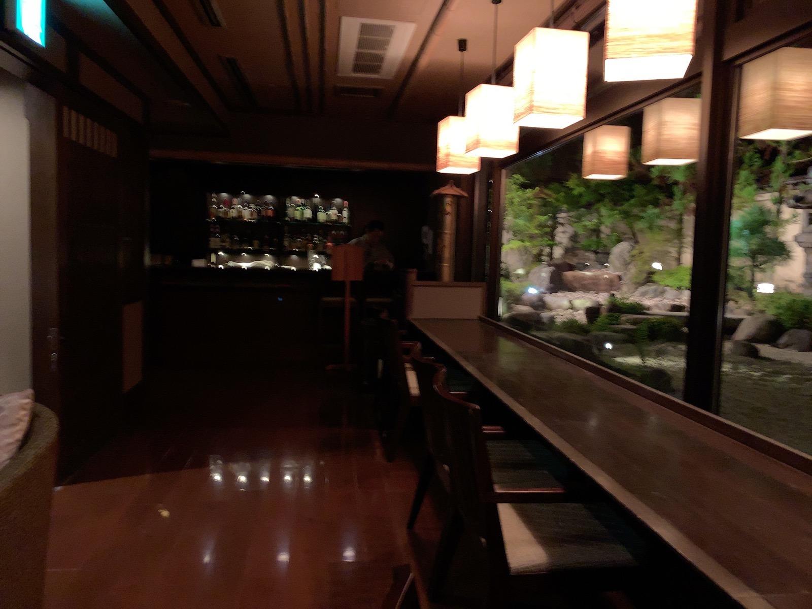 花伝抄のバー bar