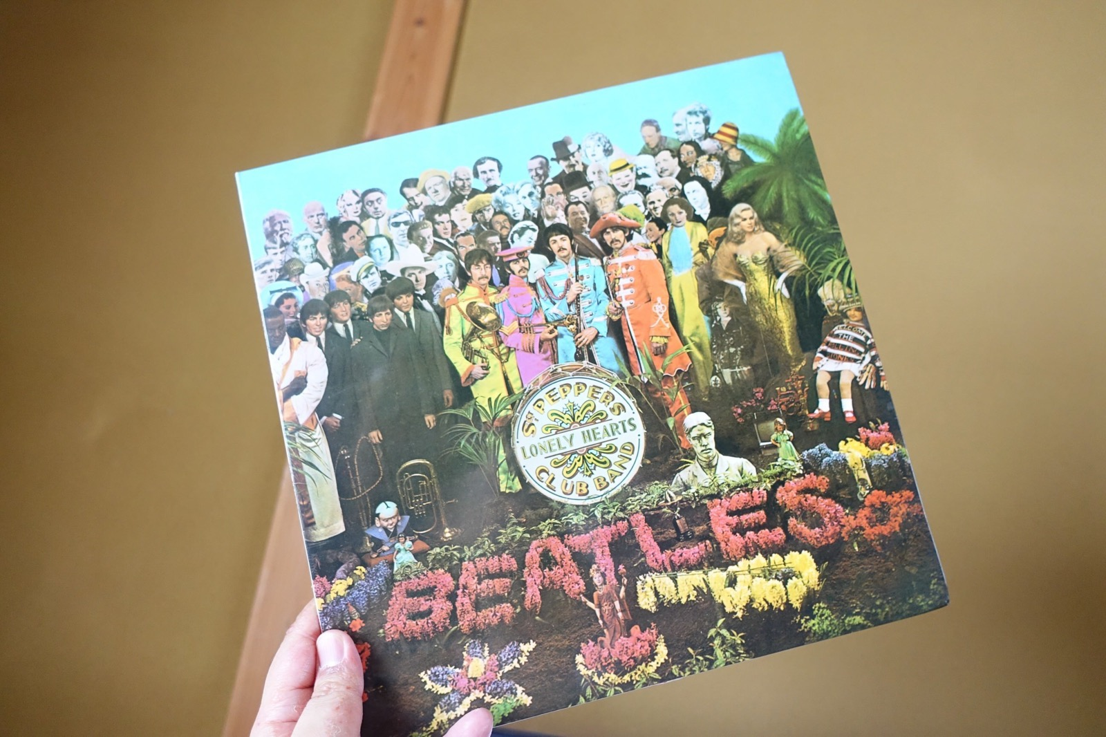 Sgt. Pepper's Lonely Hearts Club Band red