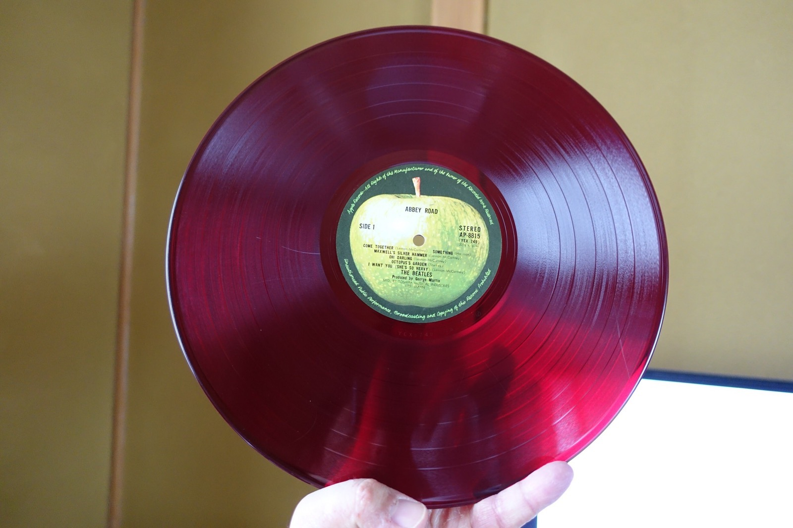 abbey road red vinyl