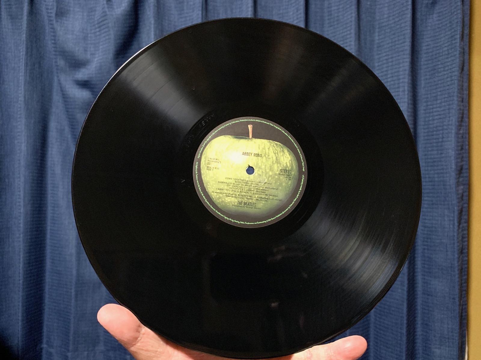 deagostini abbey road レコード