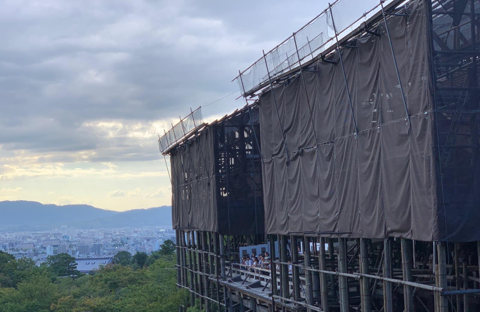 清水の舞台 kiyomizu
