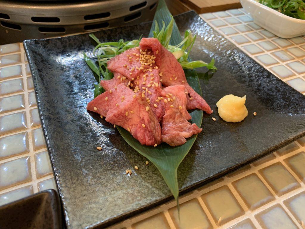 さすらいのカンテキ 店 sasurai タン刺し