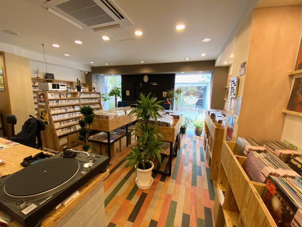 kaikoh record store coffee in
