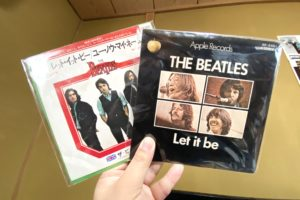 beatles let it be single