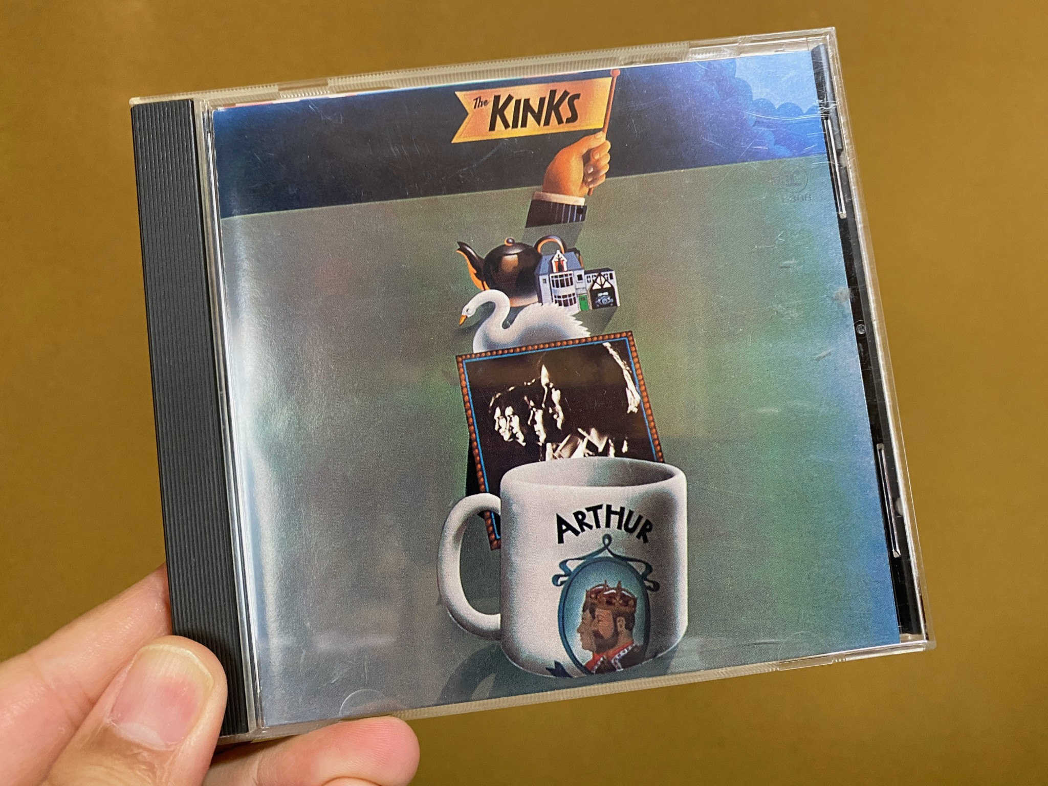 kinks Arthur CD