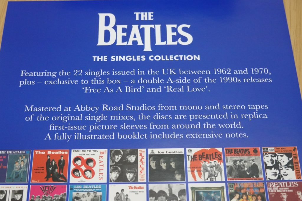 beatles singles collection remaster