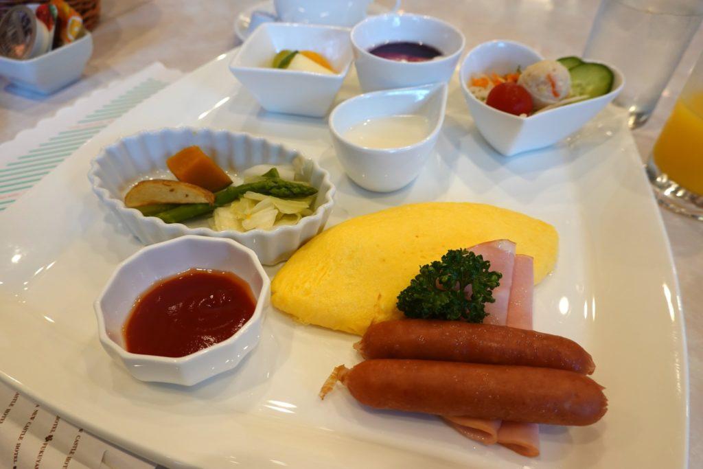 fukuyama new Castle hotel breakfast