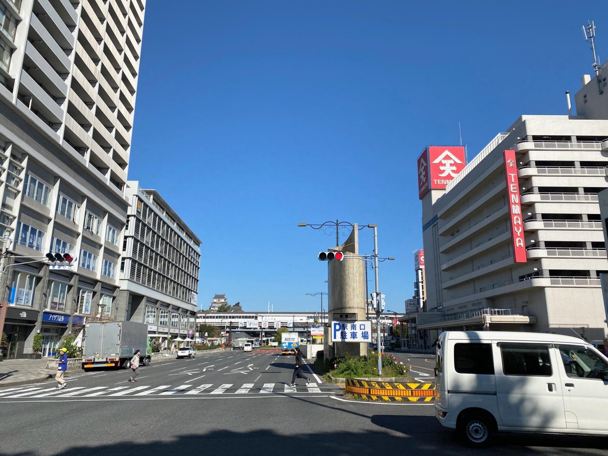 福山 宮通り 横断歩道
