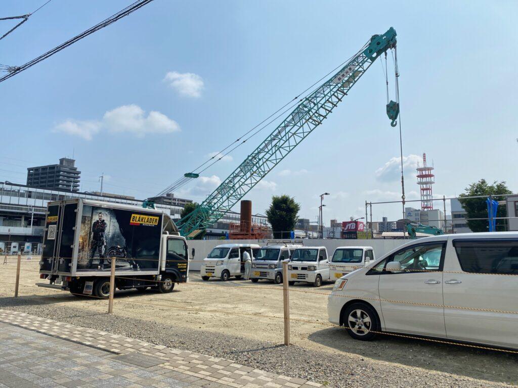 caspa 福山駅前 キャスパ跡地 工事