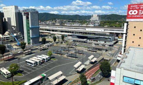福山駅前 上空 又来軒